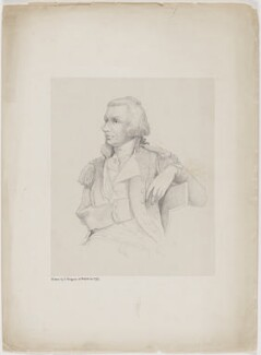 Horatio Nelson, by Hannah Sarah Brightwen (née Turner), after  Charles Grignion - NPG D49395