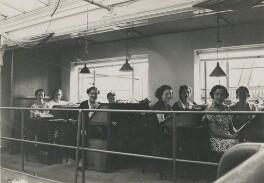 Eight of Dorothy Wilding's studio staff, by Beatrice Johnson - NPG x200920