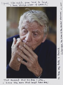 Sir Donald ('Don') McCullin, by Toby Glanville - NPG x201355