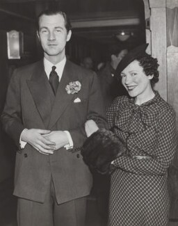 Lord Charles Arthur Francis Cavendish; Adèle Astaire (Lady Charles Cavendish), by Wide World Photos - NPG x200218