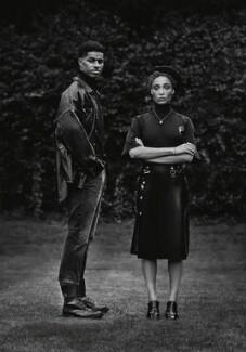 Marcus Rashford; Adwoa Aboah, by Misan Harriman - NPG x201379