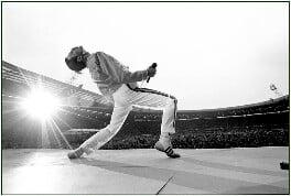 Freddie Mercury, by Neal Preston - NPG x201381