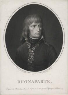 Napoléon Bonaparte, by Franz Gabriel Fiesinger, after  Jean-Urbain Guerin (Guérin) - NPG D49490