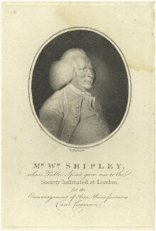 William Shipley, by and after William Hincks - NPG D4979