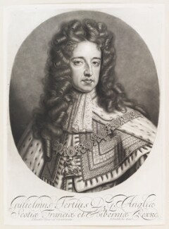 King William III, by and published by John Smith, after  Sir Godfrey Kneller, Bt - NPG D11525