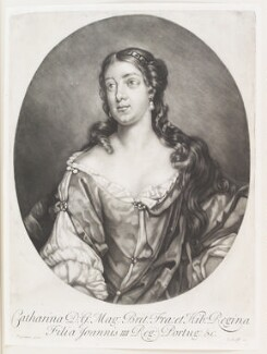 Catherine of Braganza, published by John Smith, after  Jacob Huysmans - NPG D11520