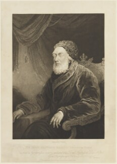 King George III, by and published by Charles Turner, after  Unknown artist - NPG D16056