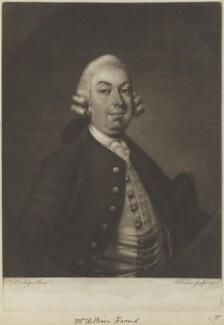 William Havard, by Edward Fisher, after  Thomas Worlidge - NPG D8355
