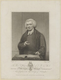 Thomas Haweis, by William Ridley, after  Henry Edridge - NPG D8356