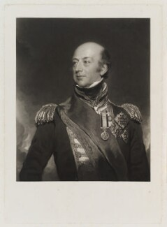 Sir Edward Codrington, by Charles Turner, after  Sir Thomas Lawrence - NPG D19257