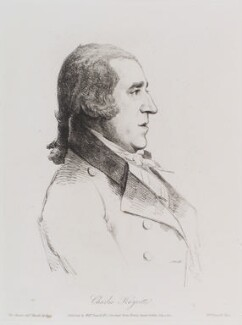 Charles Knyvett, by William Daniell, after  George Dance - NPG D12172