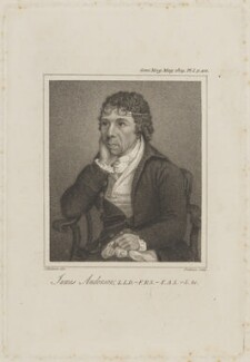 James Anderson, by Samuel Freeman, after  J. Anderson - NPG D8485