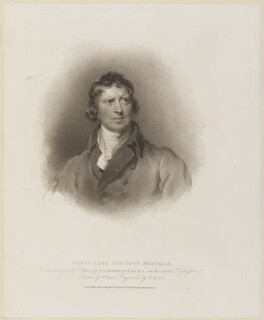 Henry Dundas, 1st Viscount Melville, by Henry Meyer, after  Sir Thomas Lawrence - NPG D8535