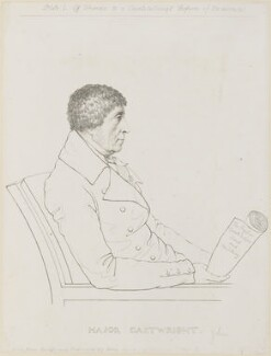 John Cartwright, by and published by Adam Buck - NPG D8549