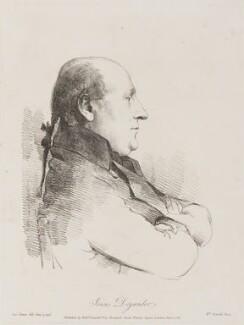 Jonas Carlsson Dryander, by William Daniell, after  George Dance - NPG D8552