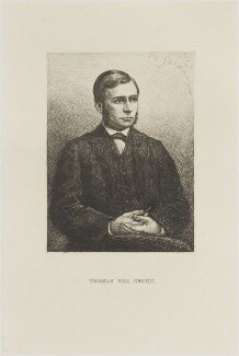 Thomas Hill Green, by Charles William Sherborn - NPG D8564