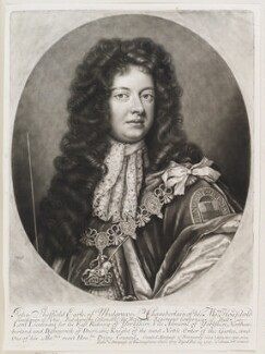 John Sheffield, 1st Duke of Buckingham and Normanby when Earl of Mulgrave, by and published by John Smith, after  Sir Godfrey Kneller, Bt, 1697 - NPG  - © National Portrait Gallery, London