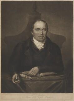 William Gadsby, by William Barnard, after  F. Turner - NPG D8651