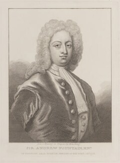 Sir Andrew Fountaine, by William Camden Edwards, after  Armstrong - NPG D8776