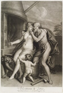 'Loves of the Gods': Vulcan and Ceres, by John Smith, after  Titian - NPG D11715