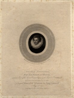 Thomas Arundell, 1st Baron Arundell of Wardour, by Robert Cooper - NPG D1001