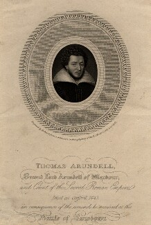 Thomas Arundell, 2nd Baron Arundell of Wardour, by Robert Cooper - NPG D1003