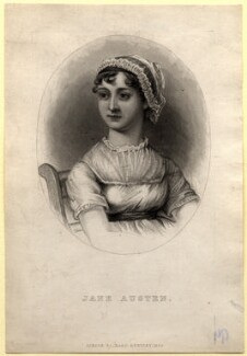 Jane Austen, published by Richard Bentley, after  Cassandra Austen - NPG D1007