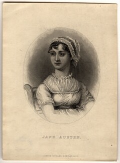 Jane Austen, published by Richard Bentley, after  Cassandra Austen - NPG D1008
