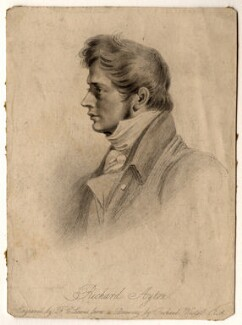 Richard Ayton, by Frederick Christian Lewis Sr, after  Richard Westall, published 1825 - NPG D1011 - © National Portrait Gallery, London