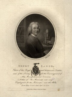 Henry Baker, by William Nutter, published by  John Bowyer Nichols, after  Thomson - NPG D1015