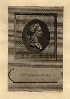 Anna Letitia Barbauld (née Aikin), by Thomas Holloway, after  Unknown sculptor, published 1785 - NPG D1017 - © National Portrait Gallery, London