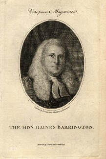 Daines Barrington, by William Bromley, after  Samuel Drummond - NPG D1020