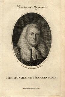 Daines Barrington, by William Bromley, after  Samuel Drummond - NPG D1020
