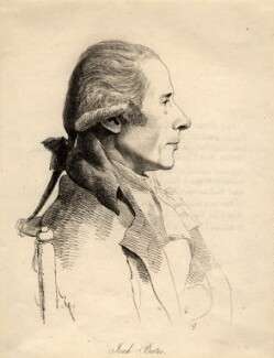 Joah Bates, by William Daniell, after  George Dance - NPG D1028