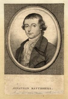 Jonathan Battishill, by Silvester (Sylvester) Harding, after  L. Sullivan - NPG D1030