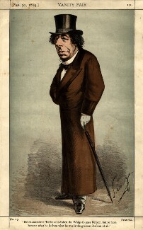 Benjamin Disraeli, Earl of Beaconsfield ('He educated the Tories and dished the Whigs to pass Reform...'), by Carlo Pellegrini, published in Vanity Fair 30 January 1869 - NPG D1033 - © National Portrait Gallery, London