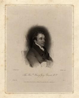 Henry Grey Bennet, by William Holl Sr, published by and after  Abraham Wivell - NPG D1052