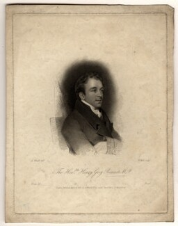 Henry Grey Bennet, by William Holl Sr, published by and after  Abraham Wivell - NPG D1053