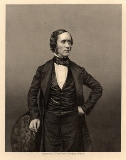 Sir William Sterndale Bennett, by Daniel John Pound, after a photograph by  John Jabez Edwin Mayall - NPG D1054