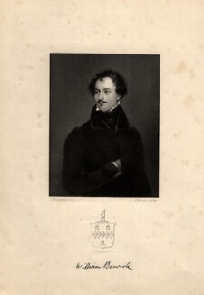 William Bewick, by Joseph Brown, after  Luke Macartan - NPG D1065