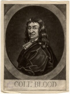 Thomas Blood, by George White - NPG D1077