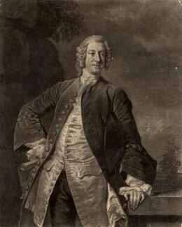 Edward Boscawen, by John Faber Jr, after  Allan Ramsay - NPG D1081