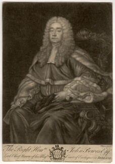 John Bowes, Baron Bowes, by John Brooks, published by  Thomas Jefferys, published by  William Herbert - NPG D1083