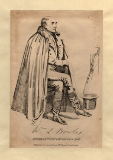 William Lisle Bowles, published by James Fraser, after  Daniel Maclise - NPG D1084