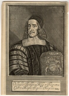 Sir Orlando Bridgeman, 1st Bt, by William Faithorne - NPG D1097