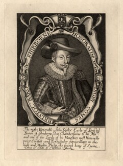 John Digby, 1st Earl of Bristol, by or after Renold or Reginold Elstrack (Elstracke) - NPG D1101
