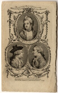 The married Maid of Honor, or, the Widow'd Wife and her two Husbands, after Unknown artist - NPG D1108