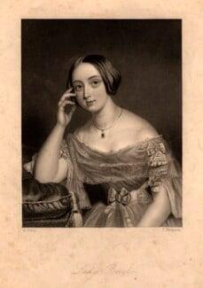 Julia Henrietta (née Anson), Lady Brooke, by James Thomson (Thompson), after  Alfred Tidey - NPG D1112