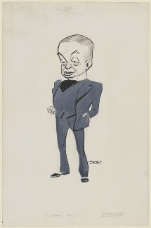 Sir Enoch Hill, by Fred May - NPG D112