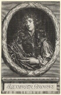 Alexander Browne, by Arnold de Jode, after  Jacob Huysmans, published 1669 - NPG D1122 - © National Portrait Gallery, London